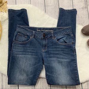 GUESS JEANS . Sarah Skinny Jeans . 30
